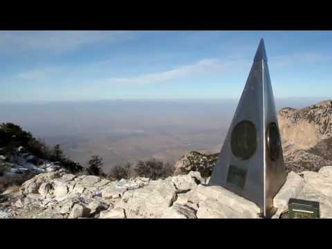 Guadalupe Peak - climbing to the top of Texas!