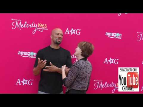 Common And Frances Fisher At The Premiere Of Amazon Studios' An American Girl Story   Melody 1963 Lo