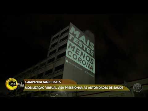 MANHÃ NO AR   COVID-19: Mobilização virtual visa pressionar as autoridades de saúde