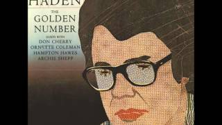 Charlie Haden - The Golden Number [Duet with Ornette Coleman]