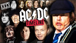 AC/DC HISTORY IN 10 MINUTES | Evolution 1973-2020