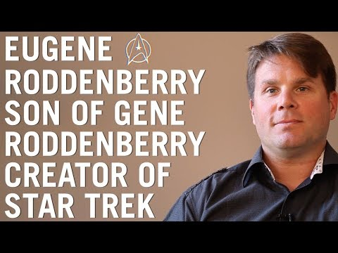 EUGENE RODDENBERRY / speaks on Star Trek, extraterrestrial life, advanced technologies and UFOs