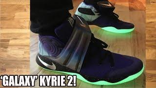Galaxy' NikeID Kyrie 2 On Feet Review +