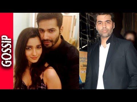 Karan Johar Announces Film With Varun And Alia - Bollywood Gossip 2017
