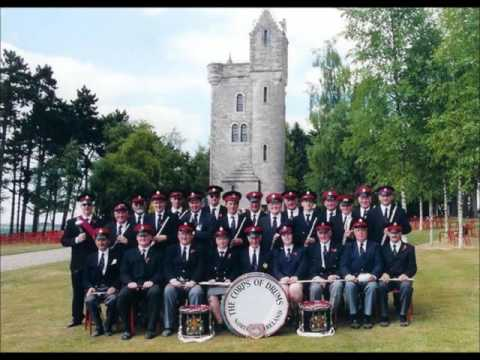 """The Corps of Drums plays """"Balmoral"""""""