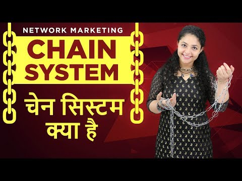Network Marketing Chain System | Chain System Business | Objection Handling In Network Marketing
