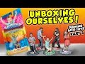 UNBOXING OURSELVES!! Our Toys Are Here! (Turning Into Skylanders Toys Part 3 #3D Printing Adventure)