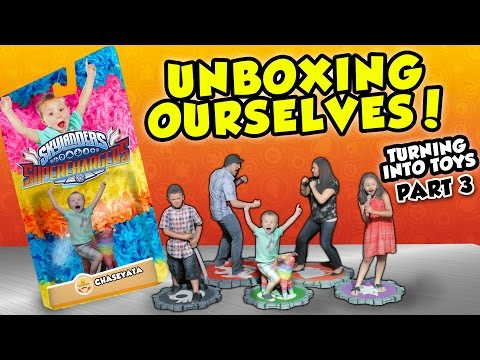 Thumbnail: UNBOXING OURSELVES!! Our Toys Are Here! (Turning Into Skylanders Toys Part 3 #3D Printing Adventure)