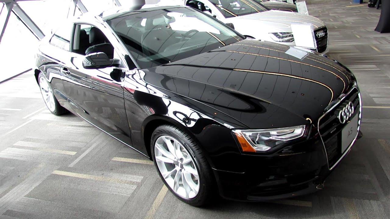 2013 audi a5 2 0t premium plus quattro coupe exterior interior walkaround 2013 ottawa auto. Black Bedroom Furniture Sets. Home Design Ideas