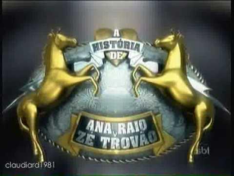 Estamos Apresentando: A História de Ana Raio e Zé Trovão | SBT 2010