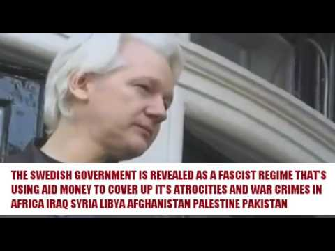 "Julian Assange ""Sweden is not a civilized state"""