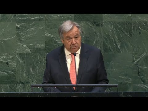António Guterres (UN Secretary-General) on the 2018 United Nations Holocaust Memorial Ceremony