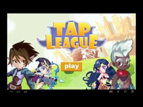 Tap League android game first look gameplay español