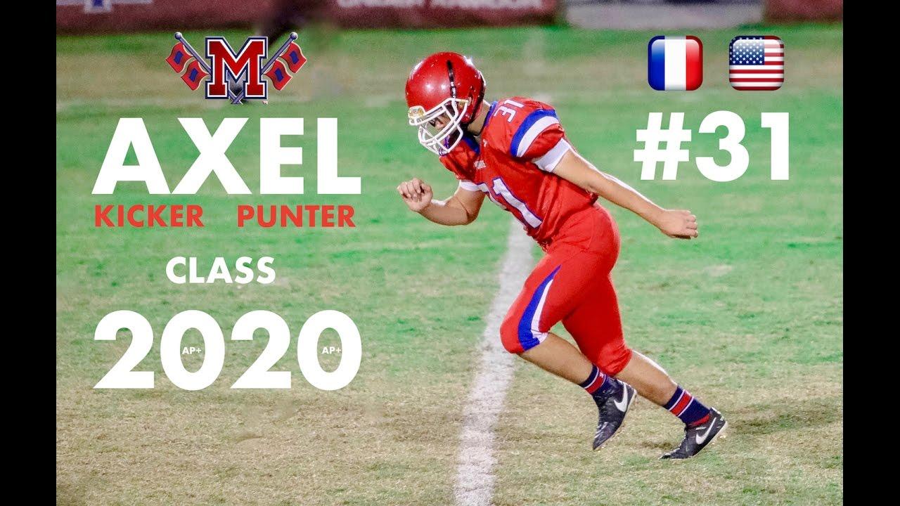 Best Kicker 2020 Top kicker State of florida class 2020 **Axel LEPVREAU** Manatee