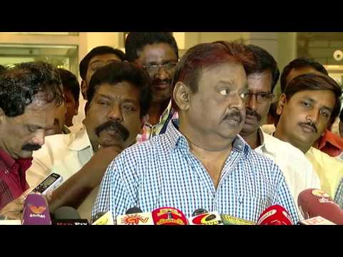 Jayalalithaa Government Entirely Failed In Chennai Flood Relief Measures - Vijayakanth