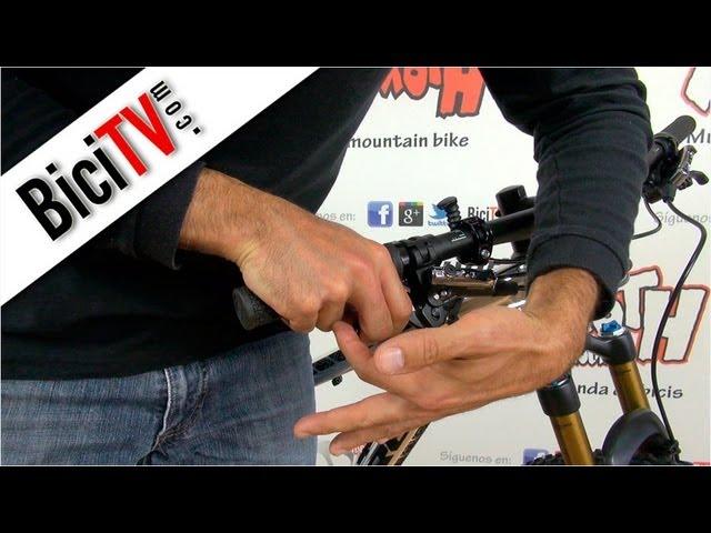1 par Diyeeni Juego de Palanca de Freno de Bicicleta de monta/ña de aleaci/ón de Aluminio Palanca de Freno de Mano de Bicicleta de 22 mm
