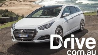2015 Hyundai i40 Series II First Drive Review Drive.com.au