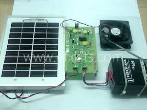 Solar Power Charge Controller   Final Year Engineering Projects