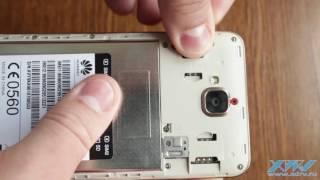 Як вставити SIM-карту в Huawei Y6 Pro (XDRV.RU)