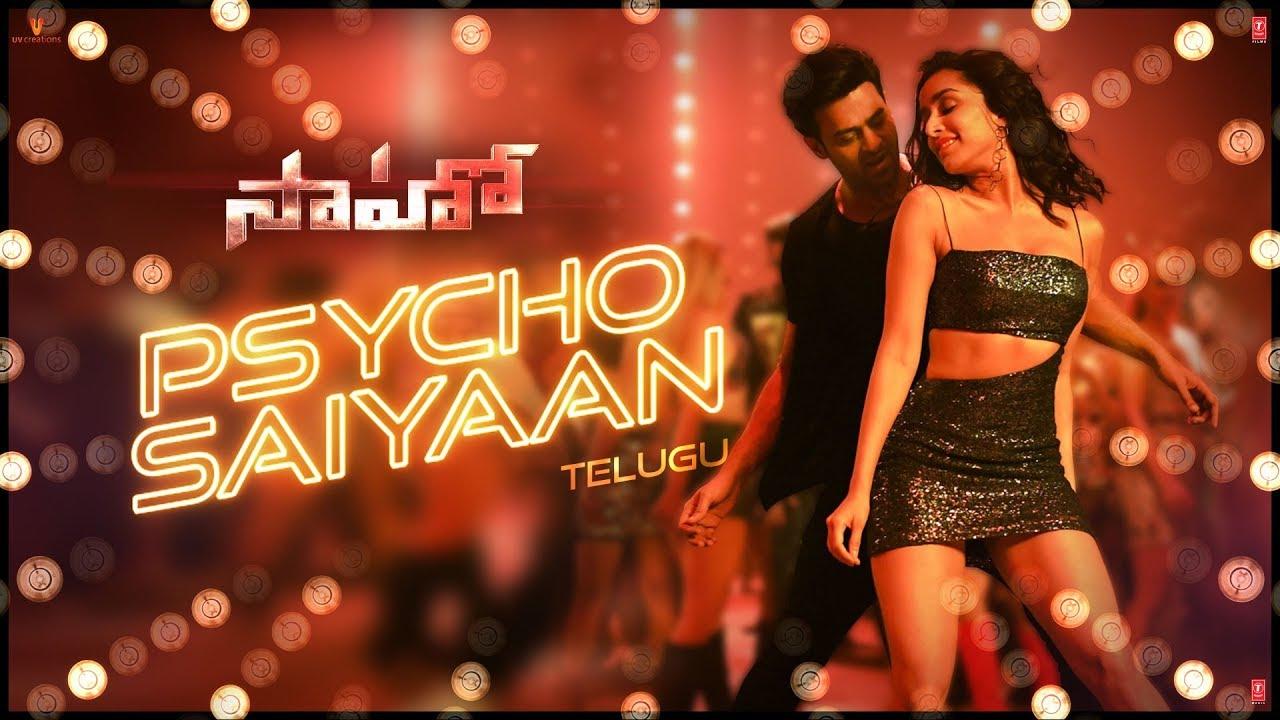 Saaho song Psycho Saiyaan out: Prabhas and Shraddha Kapoor