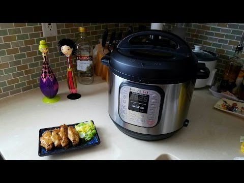 Instant Pot Pressure Cooker Coca-Cola Chicken Wings Recipe