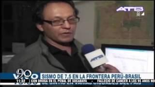 Mira los momentos de terror que se vivieron por sismos en Sudamérica