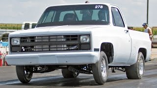TURBO Chevy C10 - 9 Second Truck!