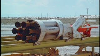Fastest Train in the World: U.S. Air Force Rocket Cars - Full Documentary (720p HD)