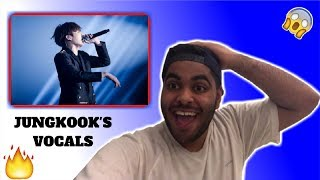 JUNGKOOK - REAL VOICE [NO AUTO-TUNE] REACTION!