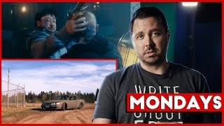 Mondays: Writing Characters & The Most Difficult Action Scene to Shoot