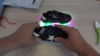 Покупка с Aliexpress. Обзор детской обуви с подсветкой