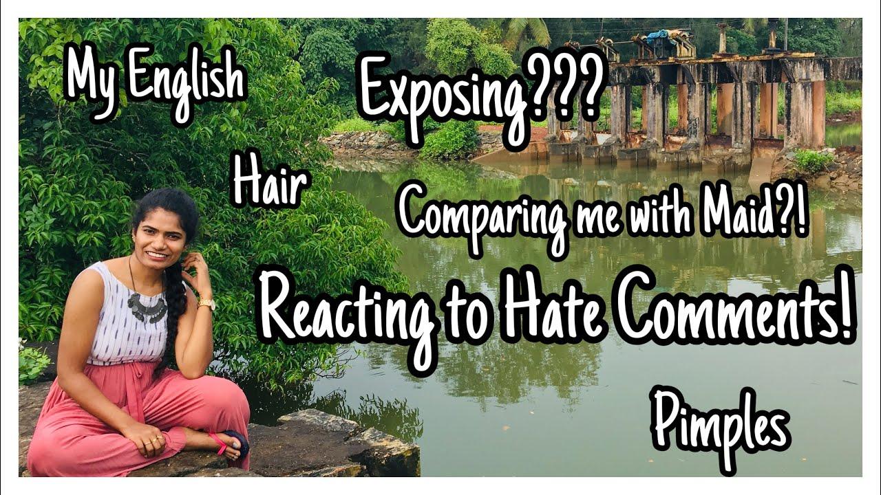 Reacting To Hate Comments | nayalooks | Navya Varma