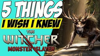 Top 5 Tips for New Players! | The Witcher: Monster Slayer screenshot 4