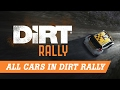 Dirt Rally | All Cars