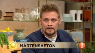 Mårtengås: Så lyckas du med gåsrätten - Nyhetsmorgon (TV4)