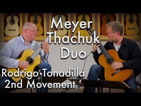 Rodrigo Tonadilla 2nd Movement - Meyer-Thachuk Duo (Sakurai-Kohno and Yuichi Imai)