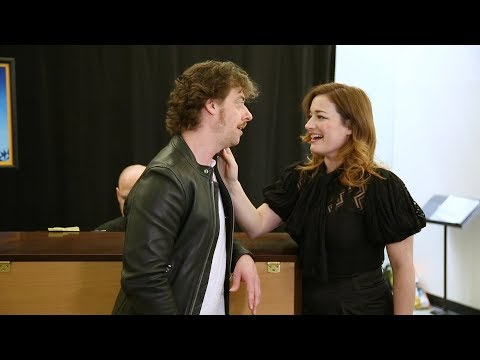 Watch Christian Borle & Laura Michelle Kelly in Rehearsal for ME AND MY GIRL at Encores!