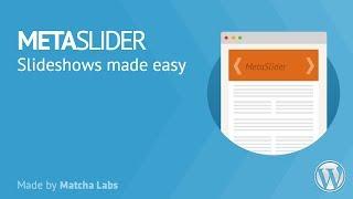 Meta Slider - Installation, Tutorial & Demonstration