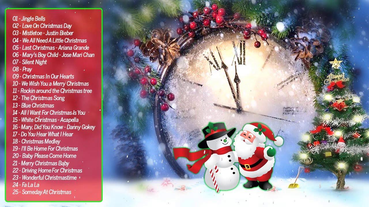 Christmas Music 2019 - Top 100 Tradition Christmas Songs Of All Time - Merry Christmas Songs ...