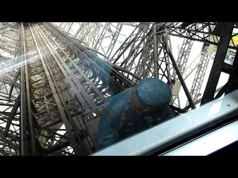 Eiffel Tower Elevator Ride