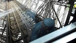 eiffel tower elevator ride