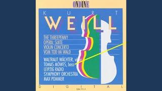 Violin Concerto, Op. 12: III. Allegro molto, un poco agitato