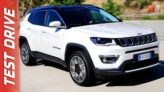 NEW JEEP COMPASS 2017 - FIRST TEST DRIVE
