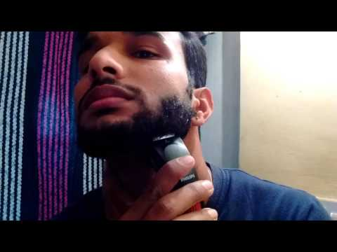 How to self trim your beard using |Philips QT4005/15 Trimmer