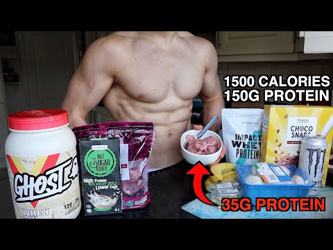 1500 Calorie Diet | High Protein Low Calorie Ice Cream Recipe...
