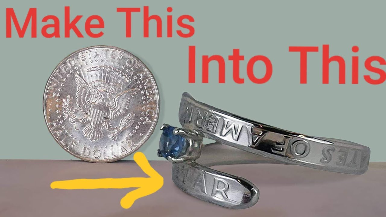Making a Silver Coin into a Wedding Ring (Tool Giveaway Too!)
