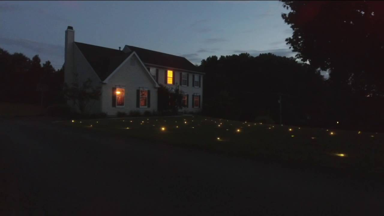 Lawn Lights Illuminated Led Outdoor