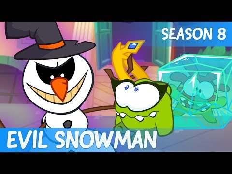 Om Nom Stories - Super-Noms: EVIL SNOWMAN (Сut the Rope) - SEASON 8 - EPISODE 10