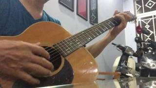 Miền cát trắng-Quang Vinh-ghitar--solo-cover
