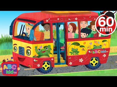 Wheels on the Bus | +More Nursery Rhymes & Kids Songs